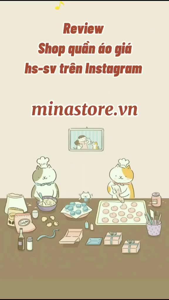 Review Shop quần áo giá hs-sv trên Instagram