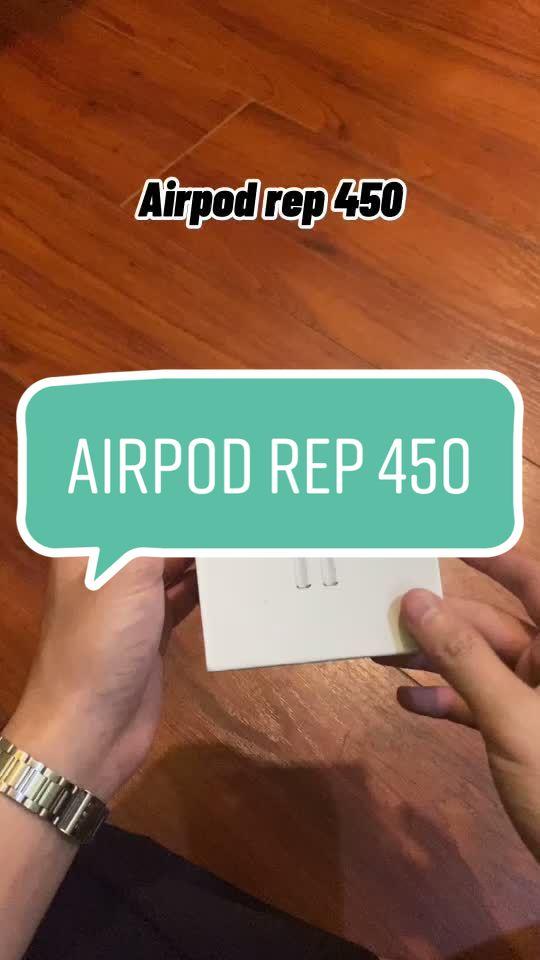 Review tai nghe Airpod rep giá trị 450K